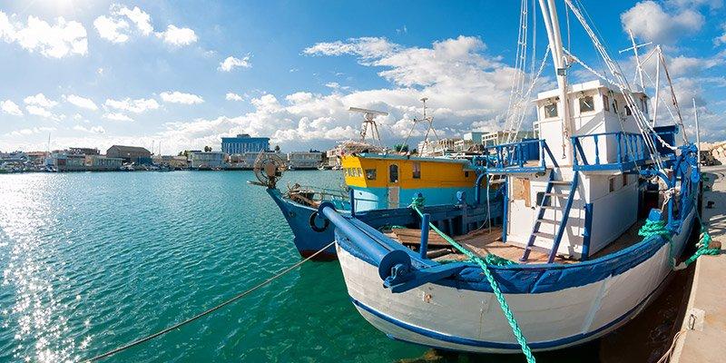 port bateau mer