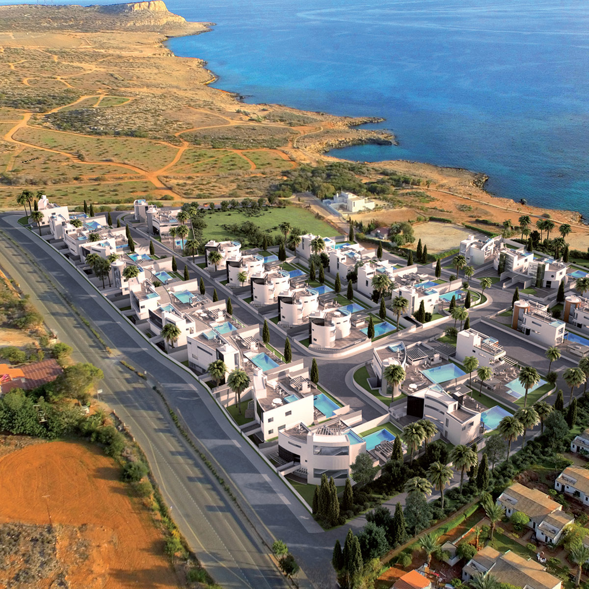 cyprus seafront properties