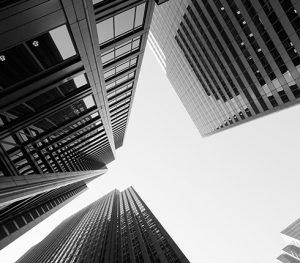 skyscraper sky buildings