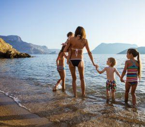 family water swimming