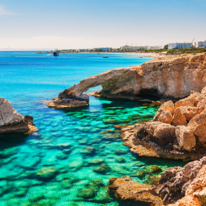 sea rocks cyprus