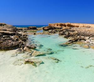 sea sand rocks