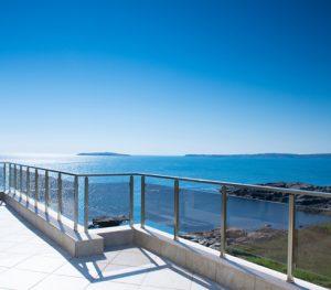 sea view blue cyprus