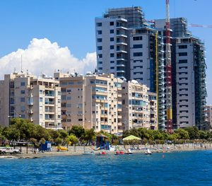 sea buildings sky ayia napa