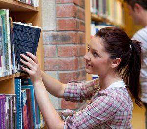 girl book library