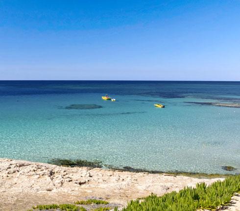 sea sky blue cyprus